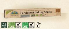 FSC® and Compostable Certified Parchment Baking Sheets FSC-C005046 | If You Care