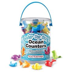 Learning Resources Mini Motors Counting and Sorting Fun Set, Set of 72