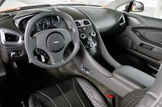 2014 Aston Martin Vanquish interior