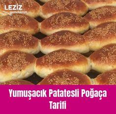 Yumuşacık Patatesli Poğaça Tarifi Hamburger, Bread, Food, Brot, Essen, Baking, Burgers, Meals, Breads
