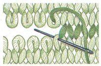 grafting on stockinette stitch