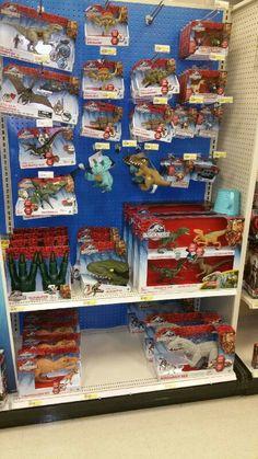 New Jurassic park toys excuse me Jurrasic world...