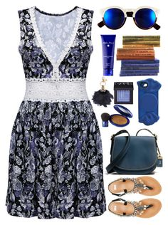 """""""HOLLOW // itsybitsy62"""" by itsybitsy62 ❤ liked on Polyvore featuring ASOS, Marc by Marc Jacobs, Coach, Elizabeth Arden, NARS Cosmetics, Acqua di Parma, Illesteva and Sophie Hulme"""