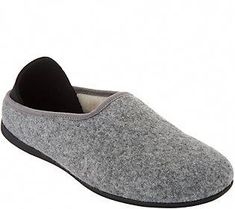 Combining a warm wool slipper design with a sneaker sole, these cozy slip-ons keep you in comfort during downtime or on the go. From Mahabis. Qvc, Ladies Dress Design, Slip On Sneakers, Slippers, Footwear, Mars, Classic, Outfits, Check