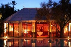 Since opening in 1998 as Marrakech's first riad-hotel, La Maison Arabe has remained one of the most prestigious and sought-after addresses in town. Marrakesh, Key Biscayne, Luxury Accommodation, Private Garden, Arabian Nights, Gazebo, Tent, Sweet Home, Africa