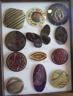 """Celluloid Button Collection Specialized to 2""""+ #buttonlovers"""