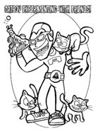 aquabats coloring pages - photo#6