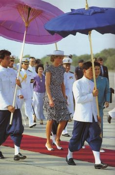 Diana & Charles - Thailand _ Février 1988 - Blog sur Lady Diana , William , Catherine & George...