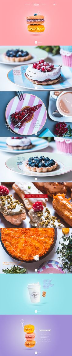 Afters bakery by Studio43, via Behance