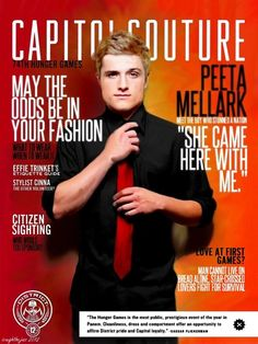 CAPITOL COUTURE: Peeta Mellark by icaughthejazz on deviantART
