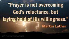 Martin Luther on prayer