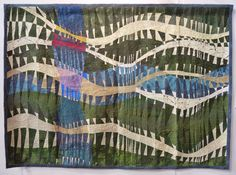 Eternity by Kimie Kawaii. 2015 Tokyo International Quilt Festival. Photo by Julie Fukuda   My Quilt Diary