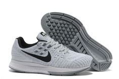 brand new bc98f 5fa76 Nike Men s Air Zoom Structure 19 Running shoes White Grey Black 806580-002
