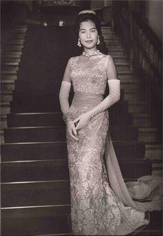 Queen #Sirikit of Thailand