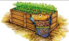 Схемы питающих грядок дающих небывалые урожаи | Мои Идеи Для Дачи и Сада