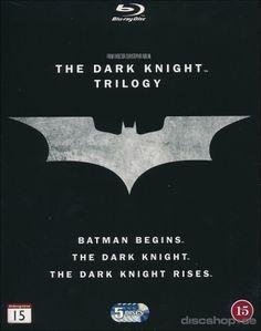 Dark Knight Trilogy (3-disc Blu-ray) 14,95€