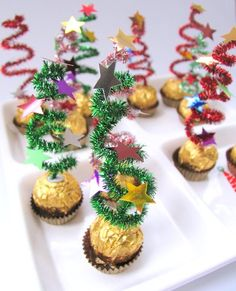 {The Organsied Housewife} Ferrero Rocher Christmas Trees