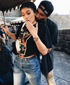 Pin for Later: Kylie Jenner and Tyga Just Can't Get Enough of Each Other