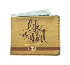 466ad051453f Awesome RFID Life is Short Men Wallet Custom Mens Wallets, Rfid Wallet, Men  Wallet