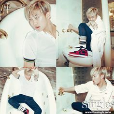 Rap Monster - Singles Magazine May Issue '15