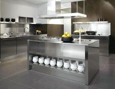 Küchenschränke Aus Edelstahl