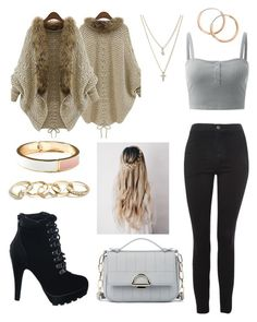 """""""Warm fall"""" by fashionstyleideas4now on Polyvore featuring Topshop, Sole Society, LOFT, GUESS and Old Navy"""
