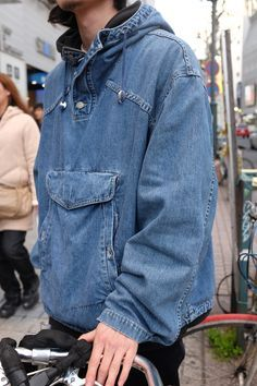 Denim fashion - Fascinating Denim Jacket Men Style Ideas That Looks Elegant – Denim fashion Denim Fashion, Look Fashion, Urban Fashion, Fashion Shirts, Fashion Boots, Womens Fashion, Fashion Ideas, Fashion Outfits, Fashion Trends
