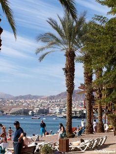 Eilat's beach - Eilat, Beer Sheva