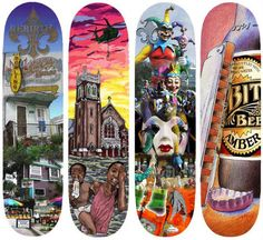 collector decks 15 wall worthy artistic skateboards skate