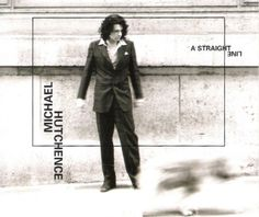 """For Sale - Michael Hutchence A Straight Line UK Promo  CD single (CD5 / 5"""") - See this and 250,000 other rare & vintage vinyl records, singles, LPs & CDs at http://991.com"""