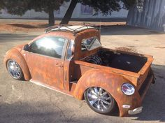 VW New Beetle rat-rod truck