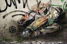 Streetart Berlin - C215 by URBAN ARTefakte, via Flickr