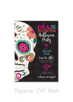 Day of the Dead/Día de los Muertos Halloween by PaperieOffPark