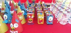 juice juice boxes kids birthday birthday parties monsters forward ...
