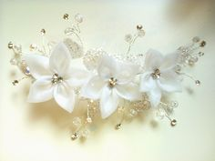 HandMade-owo: Stroiki ślubne cz.3 *Wedding headdresses part 3