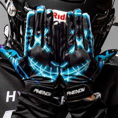 Phenom Elite AfterDark Football Gloves - VPS1 - YL