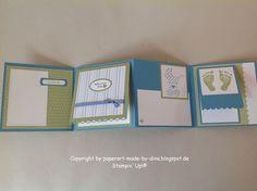 Schönes aus Papier handgemacht!: Candy-Verlosung und Babykarte