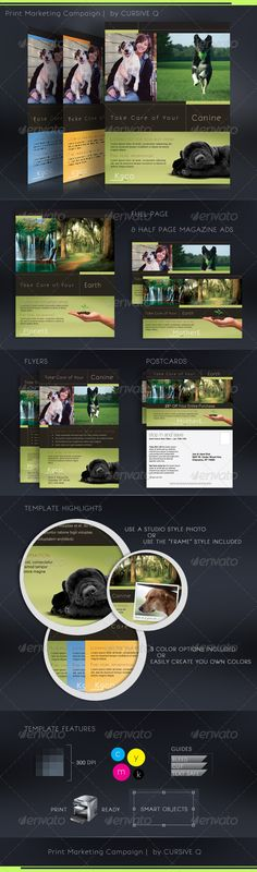 Infographic Print Ad Template on Behance Editorial Infographics
