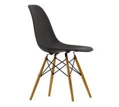 Eames stol (DSW) - Natur - sort