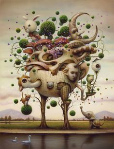Healing Tree by Naoto Hattori