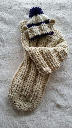 Sock monkey baby sack!