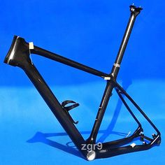 New Carbon 3k Mountain Bike Bicycle MTB Frame BB30 seatpost Cage Headset - 21""