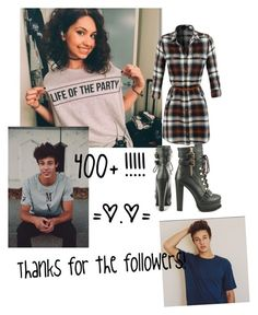 """""""400+ followers thanks!!!"""" by itsgracie18 ❤ liked on Polyvore featuring art"""