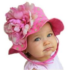 Girl Pink Flowers