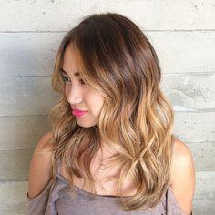 48 medium brown blonde ombre hair
