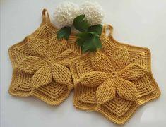 Crochet Top, Pot Holders, Women, Fashion, Potholders, Threading, Moda, Hot Pads, Fashion Styles
