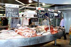 Fish market in Auckland