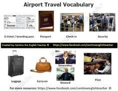 traveling vocabulary