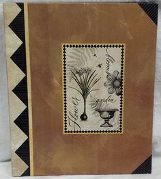 Hallmark Choose Your Own Album Botany w/Self-Adhesive Pages Large Post Bound NEW #Hallmark