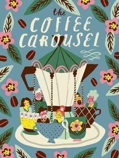 Marijke Buurlage, Coffee Carousel